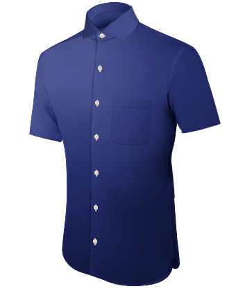 Hemden Slim with Italian Collar 1 Button