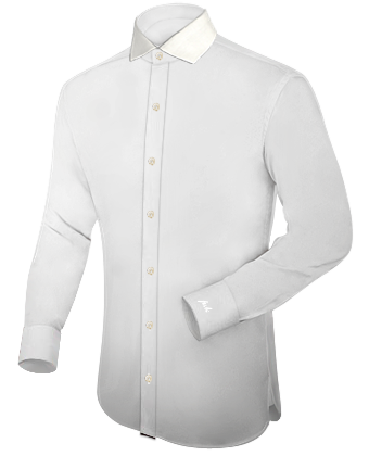 Umschlagmanschetten Hemden with Italian Collar 1 Button