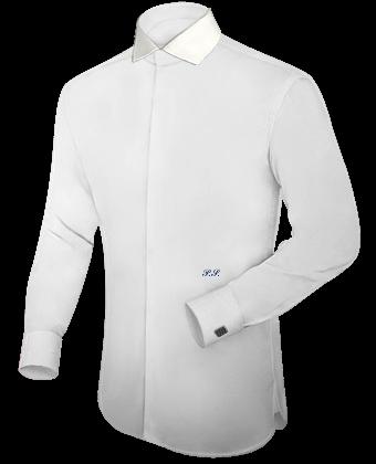 Hemd Petrol with Italian Collar 1 Button