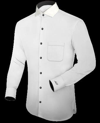 Herrenbekleidung Online with Italian Collar 1 Button