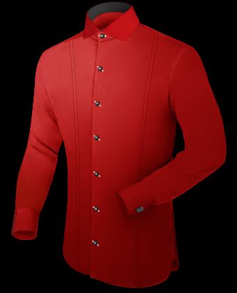 Billige Kleidung with Italian Collar 1 Button