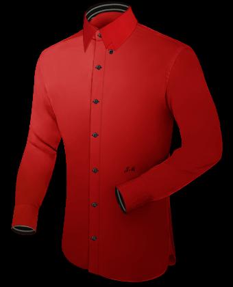 Business Hemden Online with Hidden Button