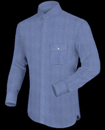 Design Eigene Hemd with Italian Collar 1 Button