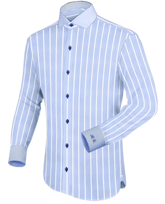 Herrenhemden G�nstig with Italian Collar 1 Button