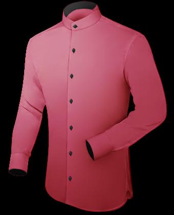 Blaue Hemden with English Collar