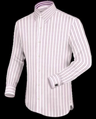 Hemd Schneidern with French Collar 1 Button