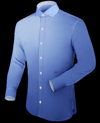 Herrenhemd Slim with Italian Collar 1 Button