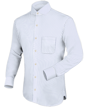 Internet Shopping with Italian Collar 1 Button