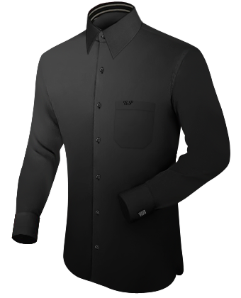 K�ln Hemd with French Collar 1 Button