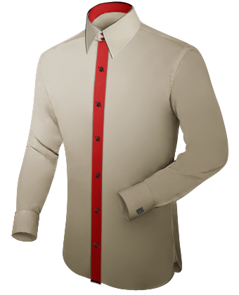 M�nnermode Trends with French Collar 2 Button