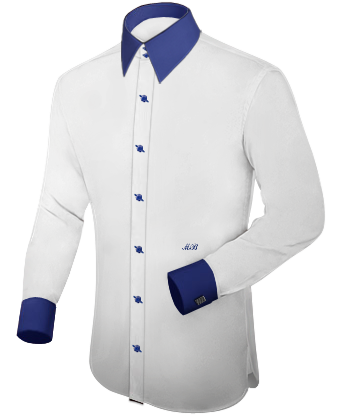 Ma��hemd Kaufen with French Collar 2 Button