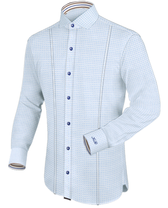Ma��kleidung Online with Italian Collar 1 Button