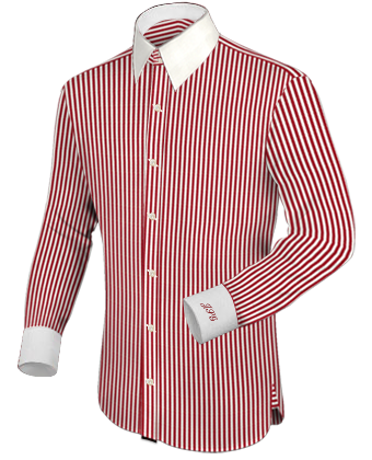 Mode Nach Mass with French Collar 2 Button