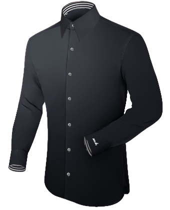 G�nstige Mode with French Collar 1 Button