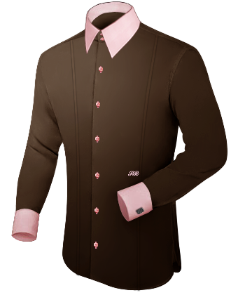 Oberhemden B�gelfrei with French Collar 2 Button