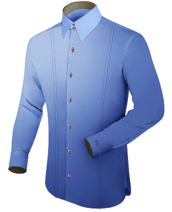 Online Shopping Store with French Collar 2 Button