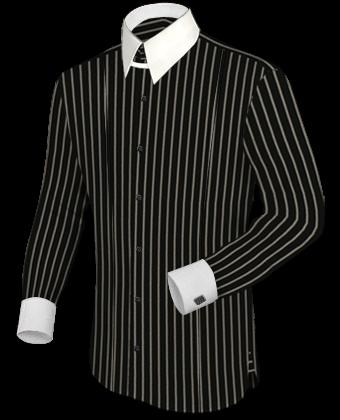 Overhemden Dubbele Kraag with Tab