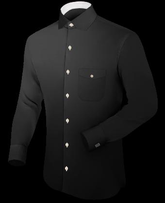 Schneiderei Online with Modern Collar