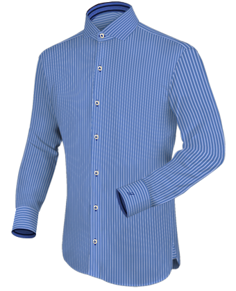 Shirt Tailor with Italian Collar 1 Button