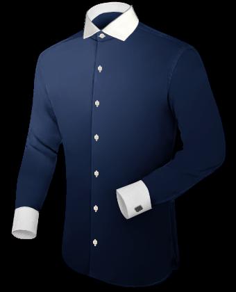 Trendyhemden with Italian Collar 1 Button