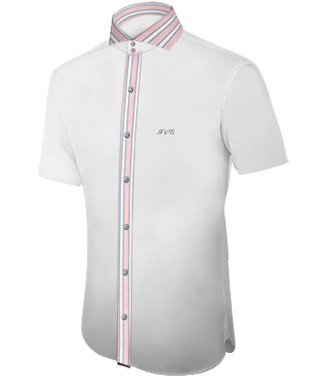 3 Fach Kragen Hemd with Cut Away 2 Button