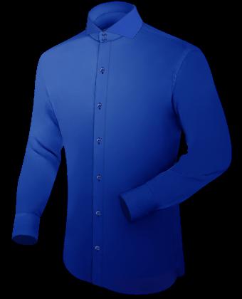 Afrika Hemden with Cut Away 2 Button