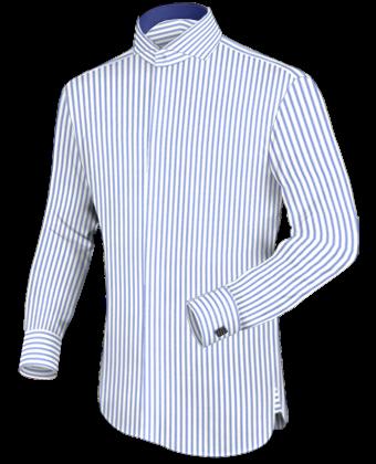 Barisal Hemden with Cut Away 2 Button
