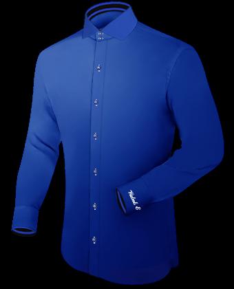 ärml�nge Bei Oberhemden with Italian Collar 2 Button