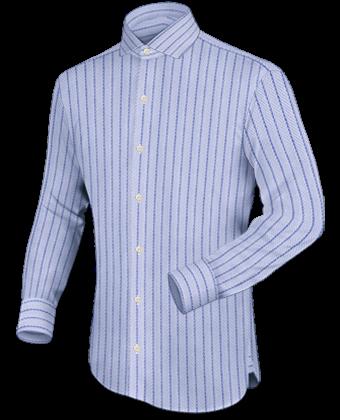 Best Hemd with Italian Collar 1 Button
