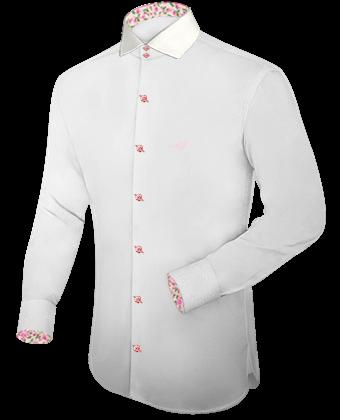 Billige Ma��angefertige Hemden with Italian Collar 2 Button