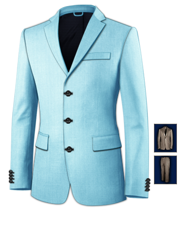 Herrenmode Bekleidungspakete with 3 Buttons, Single Breasted