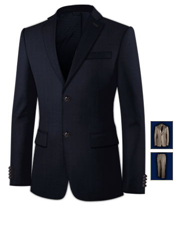 Herrenanz�ge Hochzeit with 2 Buttons, Single Breasted