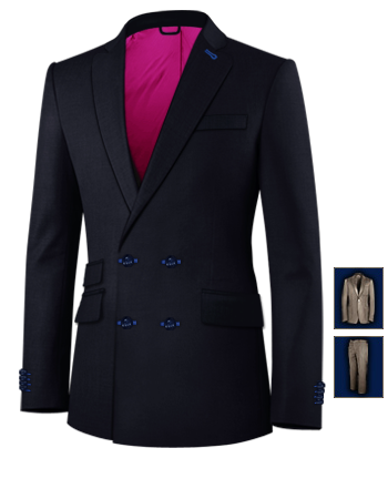 Anzug Kleidung Herren Essen with 4 Buttons,double Breasted (2 To Close)