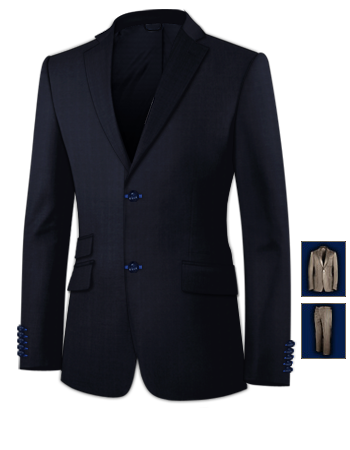 Ma��kleidung Stuttgart with 2 Buttons, Single Breasted