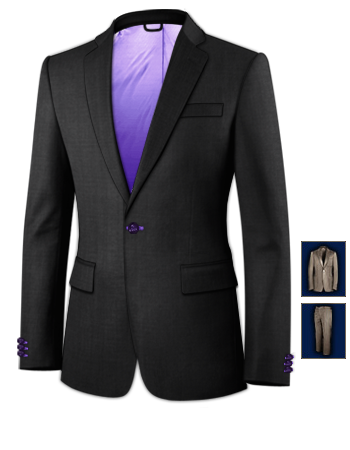 Stylische Coole Anz�ge with 1 Button, Single Breasted