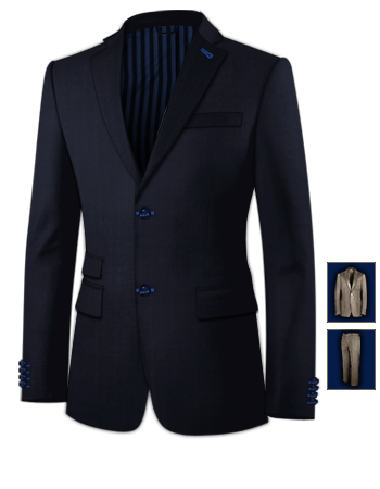 Anz�ge G�nstig with 2 Buttons, Single Breasted