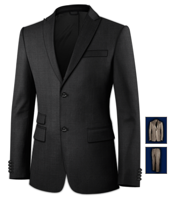 Anzug Slim Fit F�r Den Br�utigam with 2 Buttons, Single Breasted