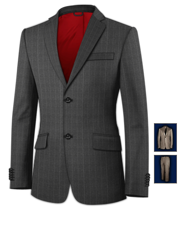 Xxl Herrenmode with 2 Buttons, Single Breasted