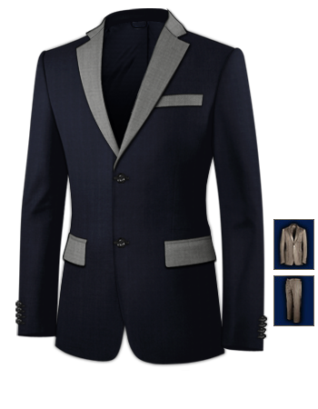 Hochzeitsanzug Wei�� Strand with 2 Buttons, Single Breasted