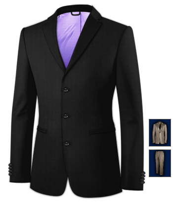 Massanz�ge Discount with 3 Buttons, Single Breasted