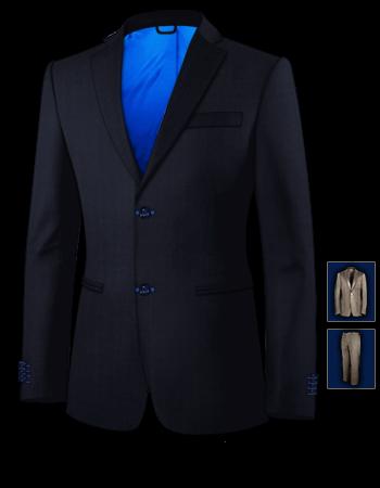 Massanfertigung Anzug with 2 Buttons, Single Breasted