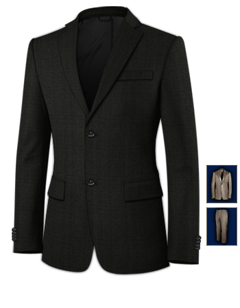 Hochzeit Herrenanz�ge with 2 Buttons, Single Breasted