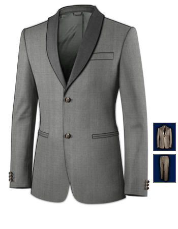 Abiballanzug with 2 Buttons, Single Breasted