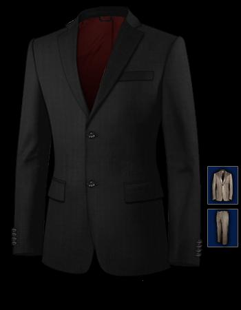 Herren Anzug Hochzeitsmode with 2 Buttons, Single Breasted