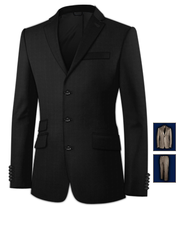 Anzuege Aachen with 3 Buttons, Single Breasted