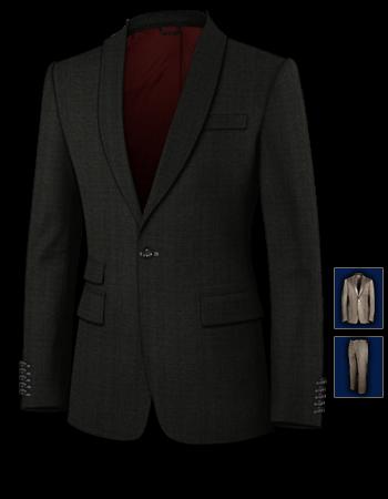 Konfirmationsanzug Slim with 1 Button, Single Breasted