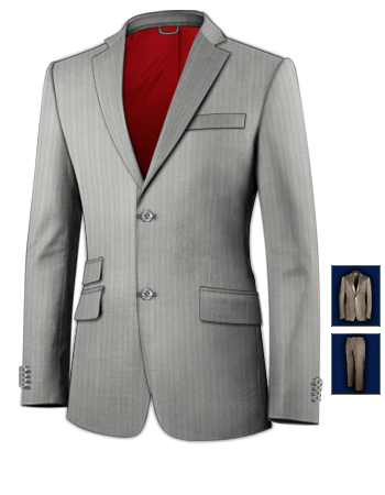 Maasanzug Online with 2 Buttons, Single Breasted