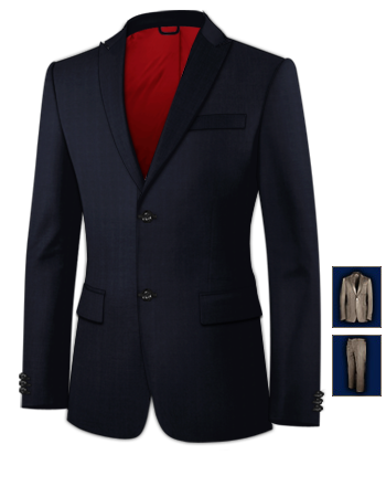 Herrenoutfit Hochzeit with 2 Buttons, Single Breasted