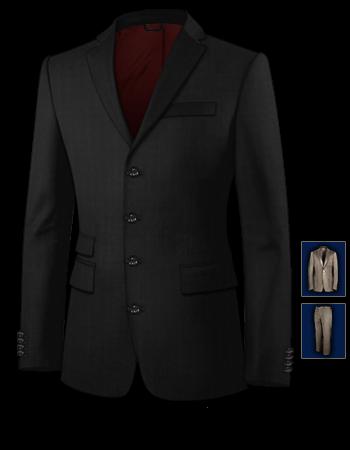 Eigenen Anzug Herstellen with 4 Buttons, Single Breasted