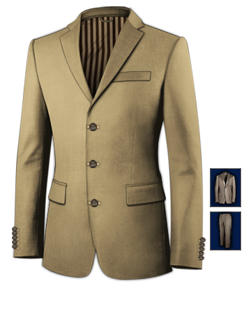 Br�utigam Mafia with 3 Buttons, Single Breasted